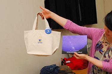 「星空とAO-CHU」オリジナルバッグと星のパンフレット